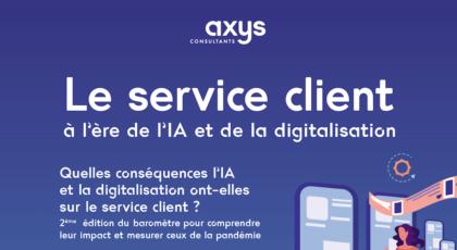 Visuel infographie service clients 2021
