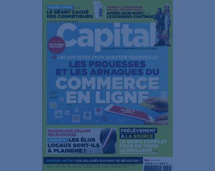 Axys Consultants dans le numéro de Capital avril 2018