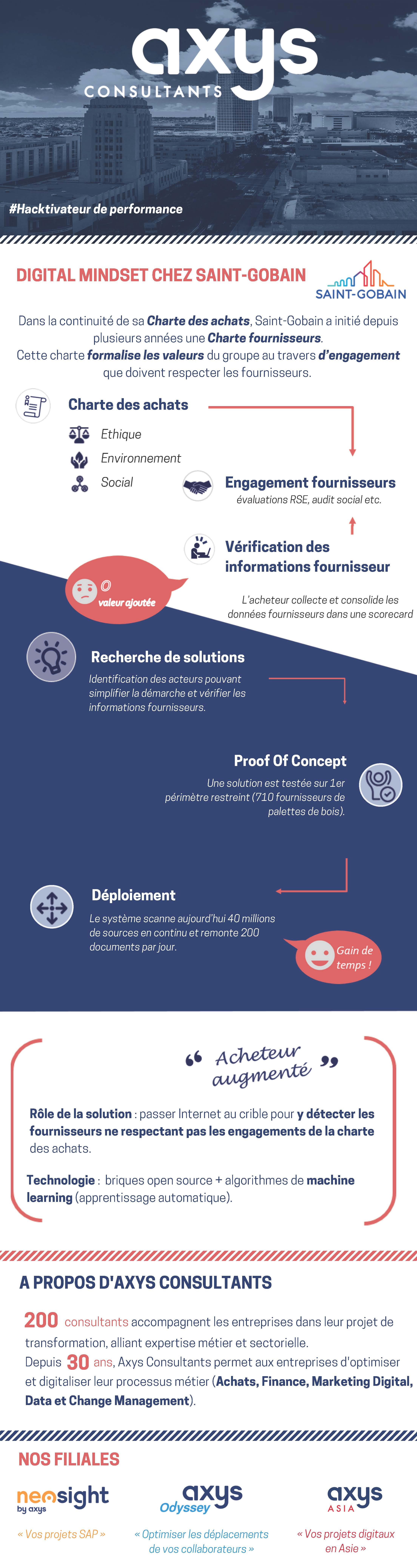 Infographie Achats Digital Mindset Axys Consultants