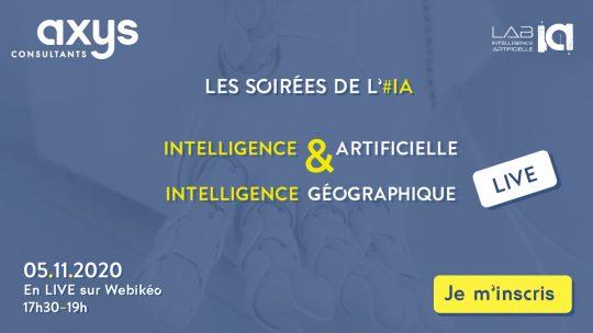Soirées de l'iA intelligence géographique