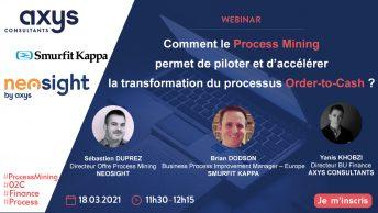 Comment le Process Mining permet de piloter et d'accélérer la transformation du processus Order-to-Cash ?
