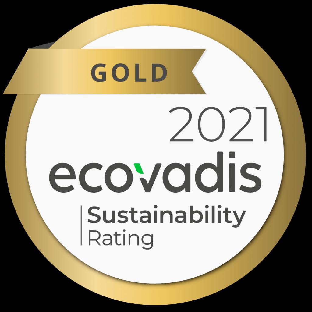 Logo Ecovadis Gold