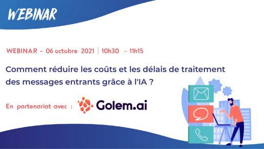 Webinar - golem ia et relation clients